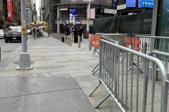 NYC Inauguration Day Jan 20 2021. Photos taken at the WTC Memorial City Hall, and Time Square NYC on Jan 20, 2021 Inauguration Day. Pretty Much Quiet.