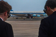 """Personnel at JFK airport await the departure of President Joe Biden aboard Air Force one after a day at  the 76th UN General Assembly in which the President spoke for the first time at the Assembly. President Biden declared that the US will use """"relentless diplomacy"""" instead of military means like that of the Afghanistan """"relentless war"""" and that the next decade is a """"decisive decade"""" for the world and our decisions will determine the global community's future. (C) Bianca Otero September 21, 2021   (C) Bianca Otero September 21, 2021"""