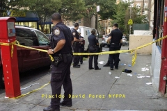 Two men shot — one of them seven times — outside Bronx bodega 