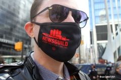 New York- Conde Nast works protest and rally about there contract in lower Manhattan