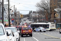 Saturday, March 06, 2021CIS InvestigationBroad StreetStaten Island, NYA child was struck by FDNY Ladder 77 shortly after 7:00 am this morning in front of 227  Broad Street in the Stapleton area of Staten Island.  NYPD called for a CIS team.  FDNY Safety was also on scene.  The child was taken to Richmond University Medical Center in critical condition.