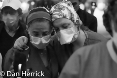 May 20th, 2020 : At Lenox Hill Hospital, healthcare workers participated in a memorial evening to mourn for those who had passed away from COVID-19.