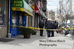 Shooting Thursday, March 04, 2021 194 Bay Street Police from the 120 PCT in Staten Island investigate a shooting of a man at 194 Bay Street in the Stapleton section of Staten Island shortly before noon on Thursday.  The man was taken to Richmond University Medical Center where he later died of his injuries.  The location is just a few feet from where Eric Garner died.