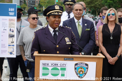NYPD Chief of Transportation Kim Royster warns against operating e-bikes illegally in New York City.