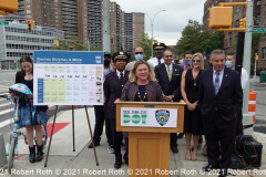 """DOT Assistant Commissioner Kim Wiley-Schwartz tells journalists; """"It's a national trend but people have gotten into poor driving behavior with more speeding and reckless driving,"""""""