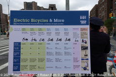 DOT Officials produced a comprehensive graphic showing the many electric vehicles; which ones are legal and where they can be ridden.
