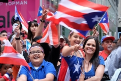Crowds gather to celebrate and watch the 62nd Annual National Puerto Rican Day Parade march down 5th Avenue in New York on Sunday Jun 9, 2019  Photo by Enid B. Alvarez