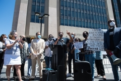 Eric Garner Anti-Chokehold Act Community Bill Signing in Harlem, New York