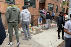ONGOING GUN VIOLENCE IN NYC On Wednesday, October 21, 2020, at approximately 2340 hours, police responded to a 911 call of a male shot in front of 1130 Anderson Avenue, within the confines of the 44 Precinct. Upon arrival, officers observed a 23-year-old male, unconscious and unresponsive, with a gunshot wound to the head. EMS also responded to the location and transported the victim to NYC Health & Hospitals/Lincoln, where he was pronounced deceased. There are no arrests at this time. The investigation remains ongoing. The deceased has been identified as: Santiago, Aaron 23-year-old male 1115 Woodycrest Avenue Bronx, NY