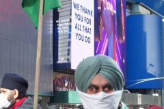New York,  Punjab Indian Farmer protest held in Times Square. New York Punjab's are  holding a protestnin solidarity with farmers of Punjab,Haryana and other states 