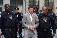 """New York-   Filming the Television show"""" Law and Order- Organized Crime"""" in  the financial District of Manhattan Dylan McDermot"""