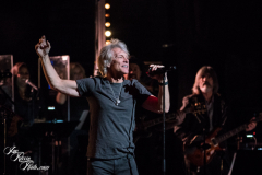 Jon Bon Jovi performs at the Fifth Annual Love Rocks NYC benefit concert for God's Love We Deliver at the Beacon Theatre on June 3, 2021 in New York City.