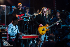 Robert Randolph and Warren Haynes perform at the Fifth Annual Love Rocks NYC benefit concert for God's Love We Deliver at the Beacon Theatre on June 3, 2021 in New York City.