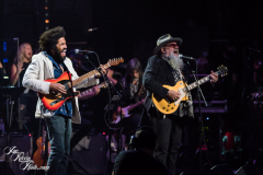 Tash Neal and Jimmy Vivino perform at the Fifth Annual Love Rocks NYC benefit concert for God's Love We Deliver at the Beacon Theatre on June 3, 2021 in New York City.