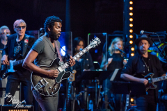 Gary Clark Jr. performs at the Fifth Annual Love Rocks NYC benefit concert for God's Love We Deliver at the Beacon Theatre on June 3, 2021 in New York City.