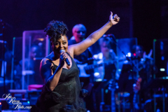 Ledisi performs at the Fifth Annual Love Rocks NYC benefit concert for God's Love We Deliver at the Beacon Theatre on June 3, 2021 in New York City.