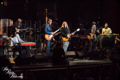 Robert Randolph, Joe Bonamassa, Warren Haynes, Jimmy Vivino, and Pedrito Martinez  perform at the Fifth Annual Love Rocks NYC benefit concert for God's Love We Deliver at the Beacon Theatre on June 3, 2021 in New York City.