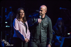 Karen Pearl (L) and John Varvatos at the Fifth Annual Love Rocks NYC benefit concert for God's Love We Deliver at the Beacon Theatre on June 3, 2021 in New York City.