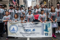 Impressions from last year's Labor Day Parade since this year's event was canceled due to the COVID-19 pandemic. The pandemic has shown that unions, whether in the private or public sector, are more important than ever to protect workers' safety and health.