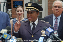 NYPDÕs Chief of Transportation Kim Royster and other city officials urged New Yorkers not to drive drunk or on drugs during the Independence Day Holiday weekend.  Royster promised enhanced enforcement of traffic regulations.