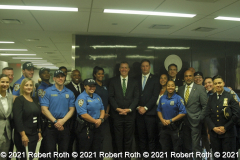 Commissioner Shea and Chief Harrison got together with GOAL members following the conference in which a long list of diversity and inclusion measures was detailed..