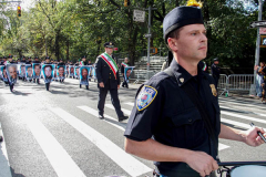 """The annual Columbus Parade in NYC took place on between 42nd and 72nd on 5th avenue again this year, after last year's COVID hiatus, attracting thousands of spectators to watch. The festivities were filled with an abundance of floats and key figure participants in the iconic parade also known as;  """"US's biggest Italian-American Heritage Parade.""""  President Biden also commemorated both today as both Columbus Day and National Indigenous Day.     (C) Bianca Otero. NYC. October 10, 2021."""