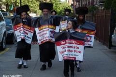 New York- Pro- Palestine Rally held in Bay Ridge section of Brooklyn