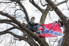Washington, DC - January 6, 2021: Pro-Trump protesters rally around Ellipse and Washington Monument to listen speeches by President Trump and his associates