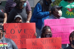 NEW YORK  Rally to keep school safety agents in schools under the supervision of the New York Police Department.