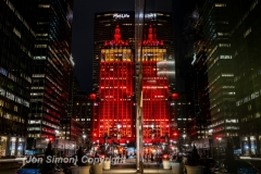 The annual National School Choice Week celebration is lighting up landmark locations around the country from 1/24 to 1/30 2021.  Here the NYC Helmsley Building reflects the NSCW colors of red and yellow.