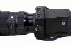 Sigma FP with the Sigma 24-70mm f2.8 lens and Sigma LVF-11 LCD Viewfinder for fp Mirrorless Digital Camera