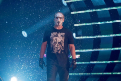 Pictured: Sting. Wrestlers from AEW (All Elite Wrestling) fought each other in the ring under the roof of Arthur Ashe Stadium in Flushing NY on September 22, 2021 during a live televised broadcast of AEW Dynamite: Grand Slam. (Photo by Andrew Schwartz)