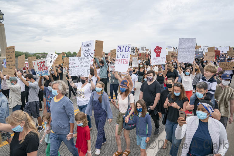 Sag Harbor Protest to Police Brutality and the Killing of George Floyd