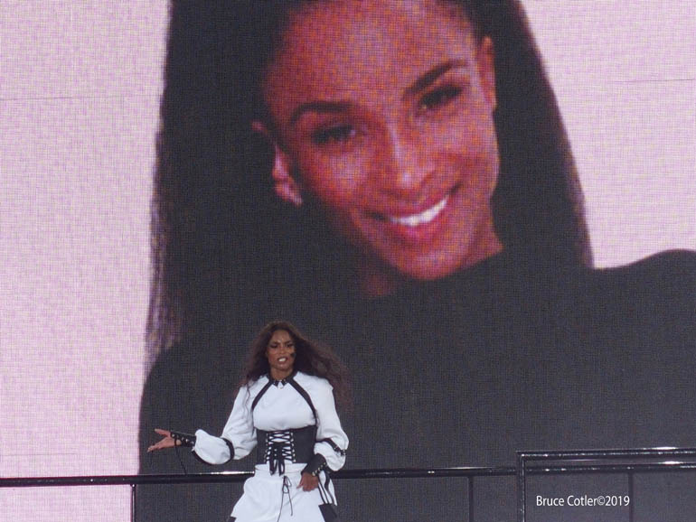 Ciara performs in  Central Park for Good Morning America Concert series