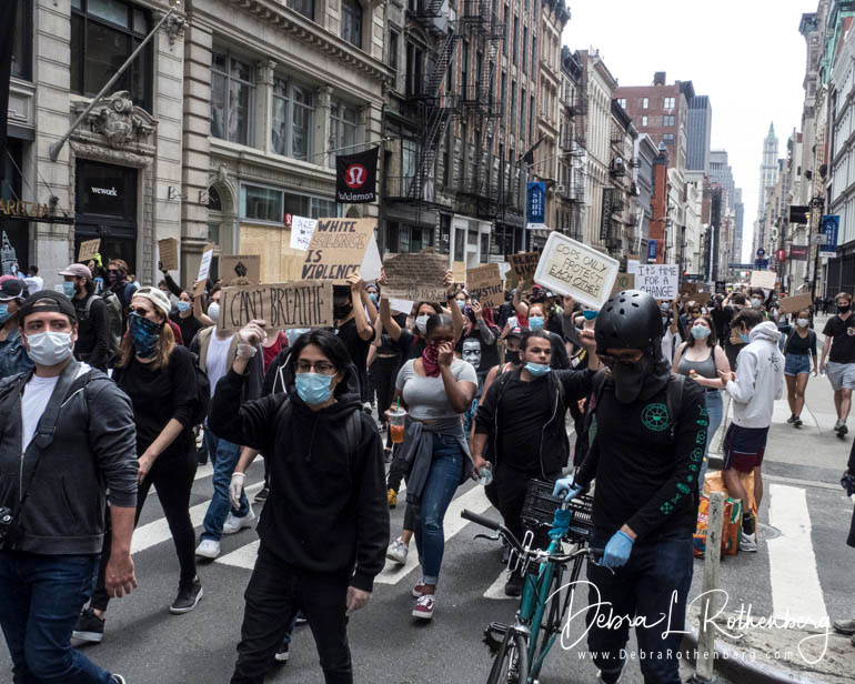 Black Lives Matter March from Foley Square to Broadway