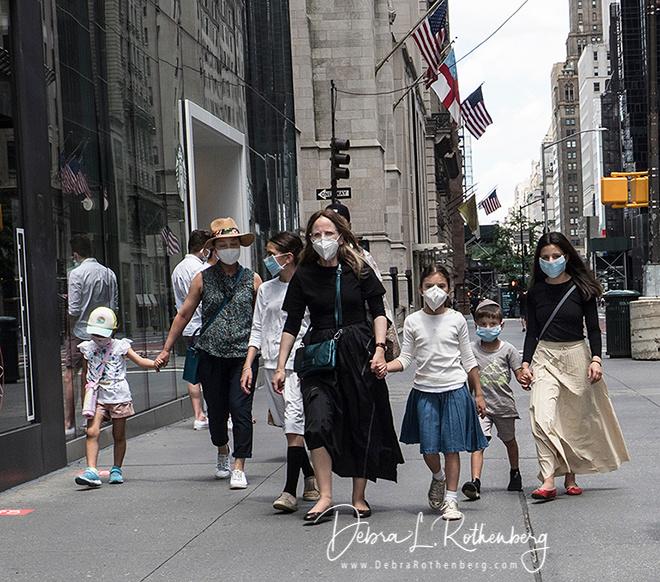 NYC Scenes during the Corona Virus