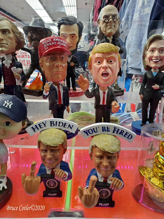 Election Night in N.Y.C. 2020