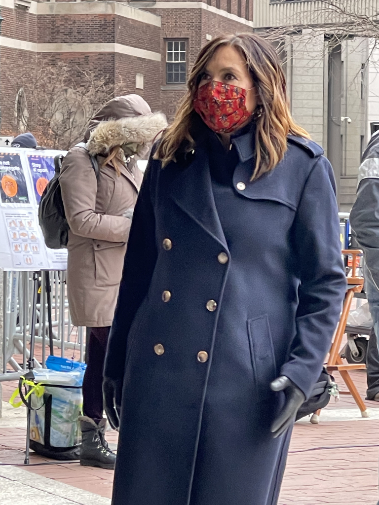 Law and Order Filming
