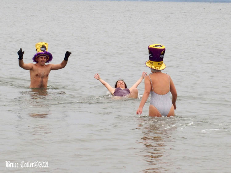 Non-Sanctioned Polar Bear Plunge 2021