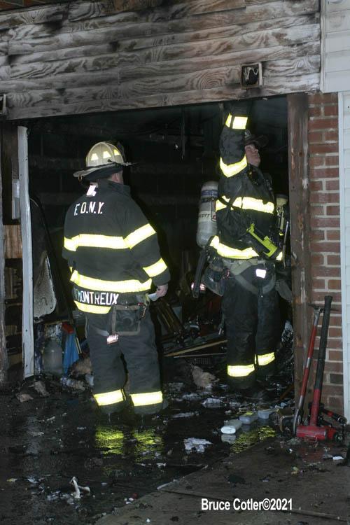 Fire in Brooklyn