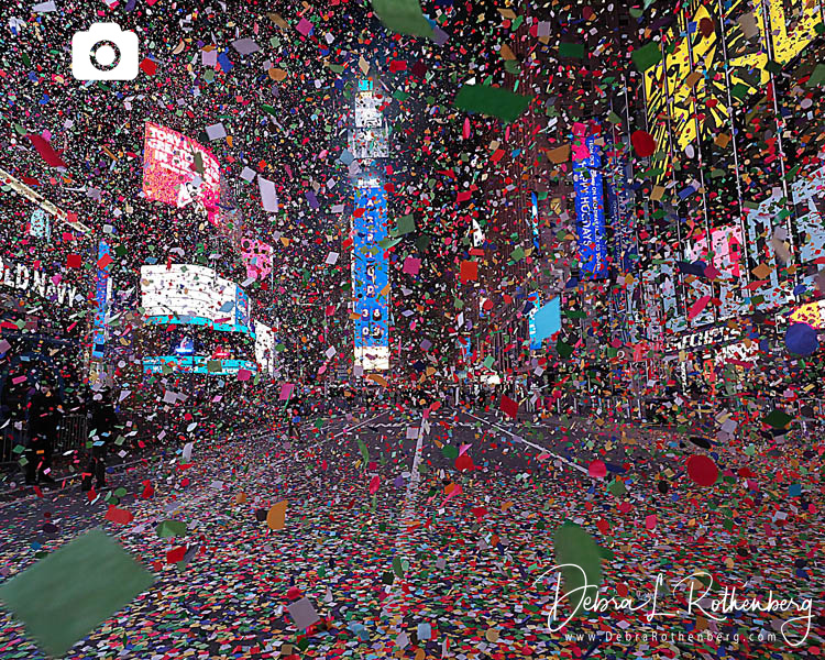 New Years Eve in Times Square during Corona Virus