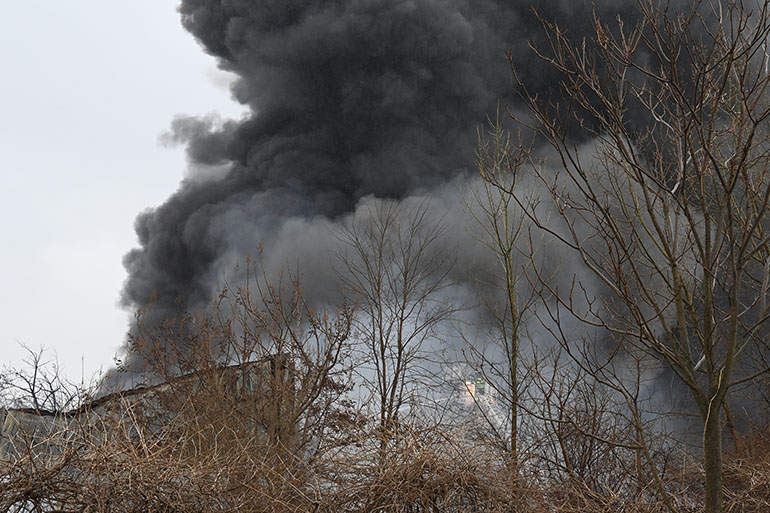 Fifth Alarm Fire in Staten Island