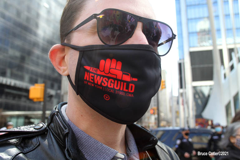 Conde Nast Protest and Rally