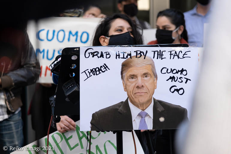 Impeach Cuomo Rally