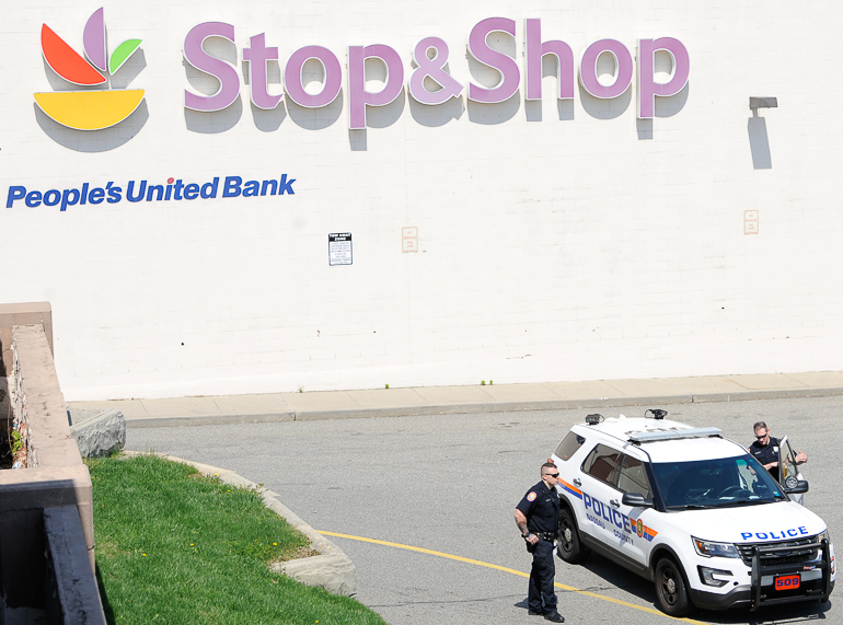 Shooting at the Stop and Shop Supermarket in West Hempstead, Long Island