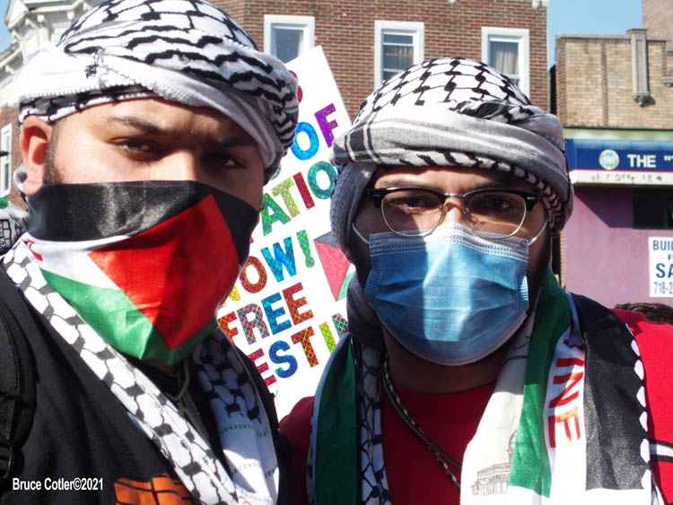 Pro- Palestine Rally in Brooklyn