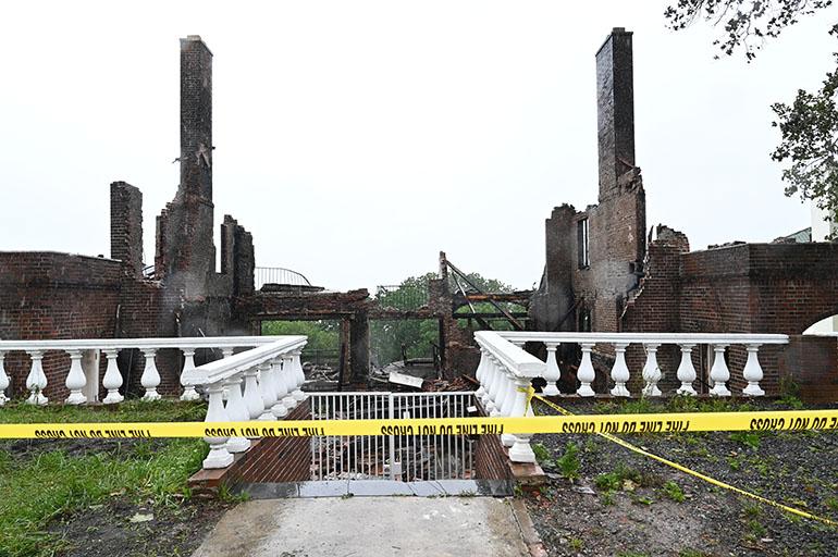 Three Alarm Fire in Staten Island
