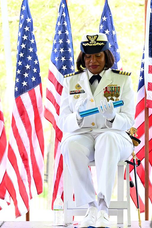 USCG Change of Command  USCG Sector New York  Fort Wadsworth