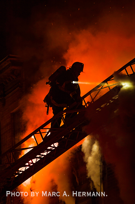 2 Alarm Fire in Brooklyn