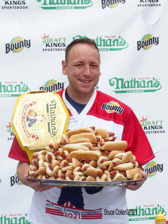 Nathan's Hot Dog Eating Contest Weigh – In